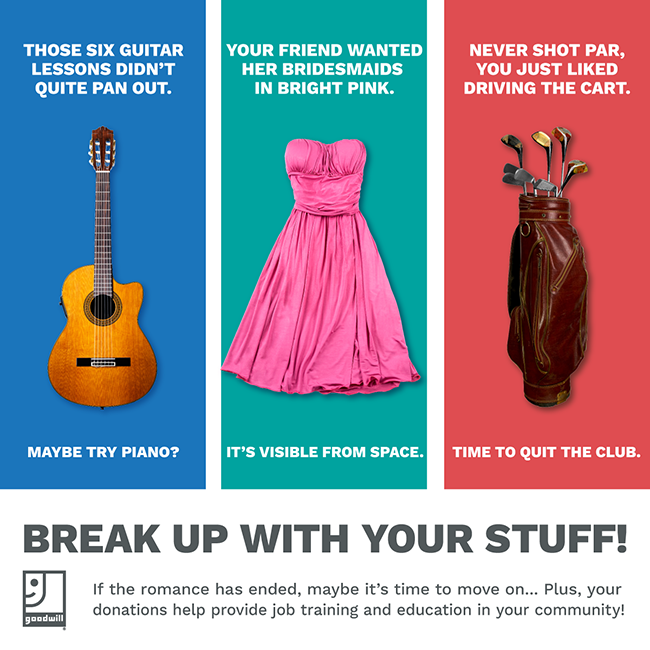 Break Up With Your Stuff
